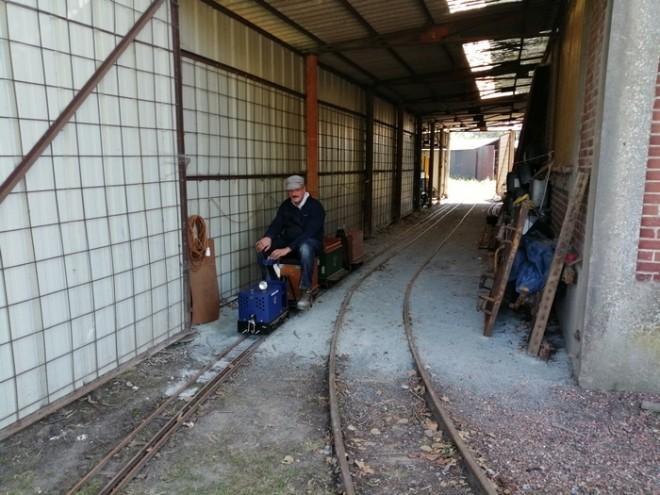 Saint Amand les Eaux, le petit train de la Scarpe  File
