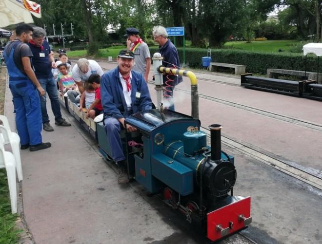 petit train à vapeur de Forest  File