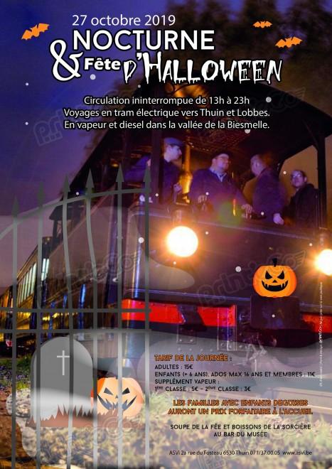 ASVi: Tramway historique Lobbes-Thuin, nocturne du 27 oct 2019 File