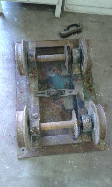 Le premier engin moteur du CFVS Image