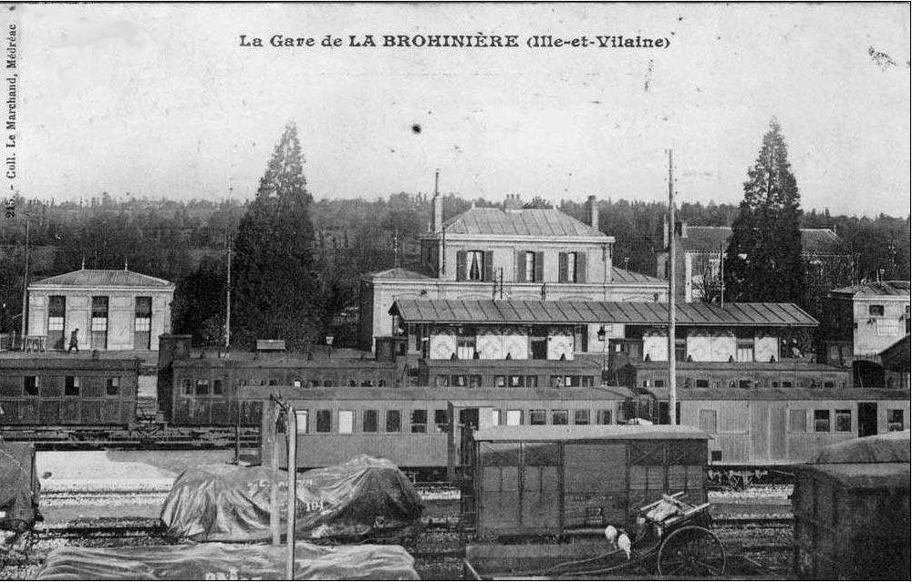 Balade gare de la Brohinière (Lanvroeneg) [17 MAI 2018] Image