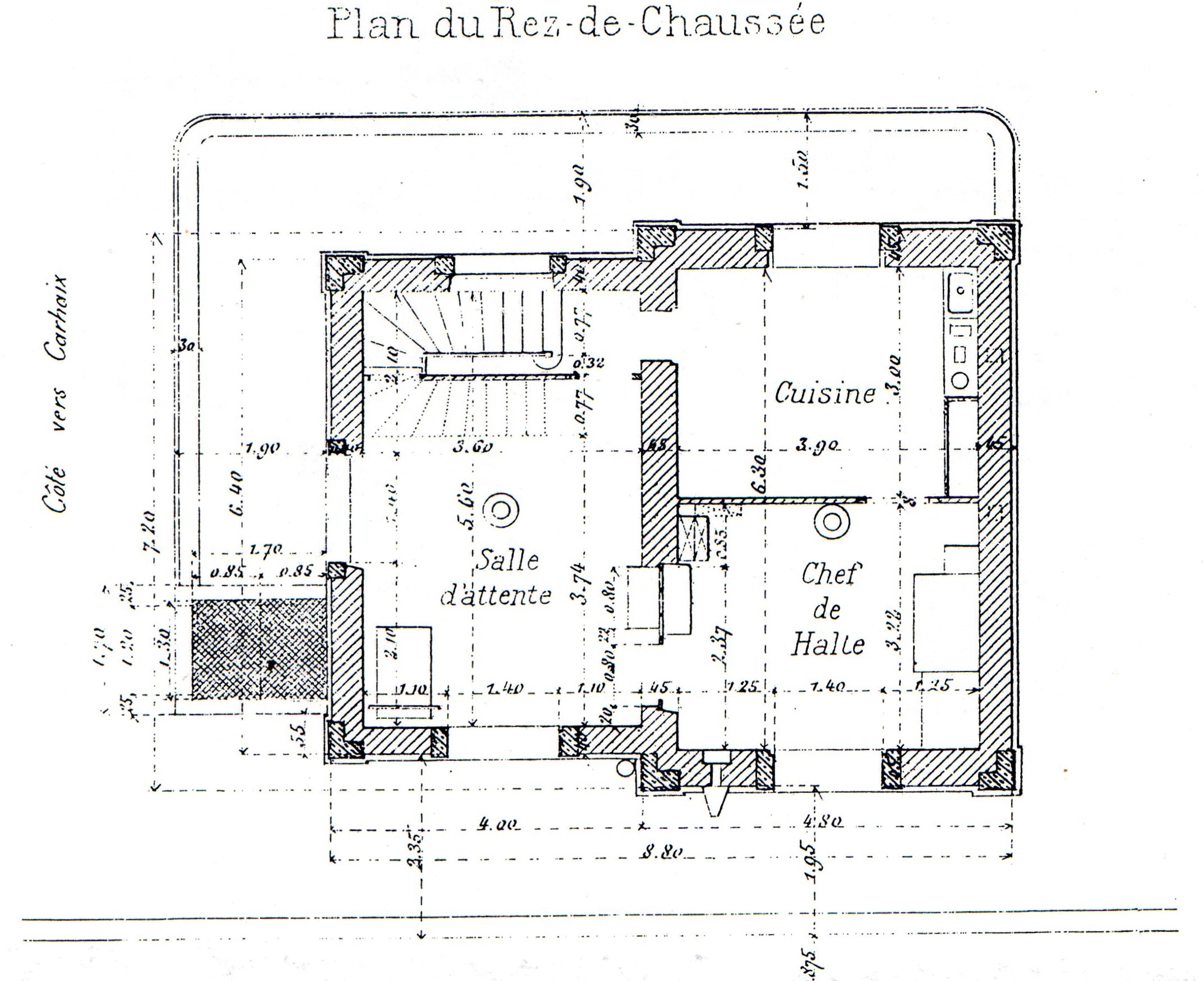 Documentation pme - Plan de rez de chaussee ...